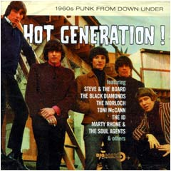 Various Artists - Hot Generation! 1960's Punk From Down Under